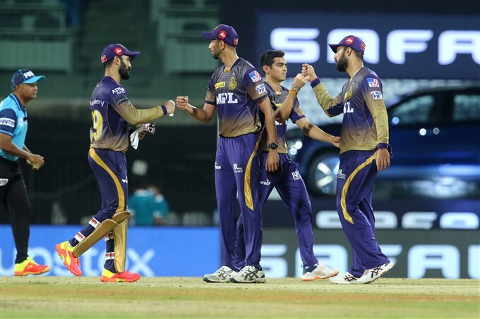IPL 2021: SH vs KKR, Match 3 Photos