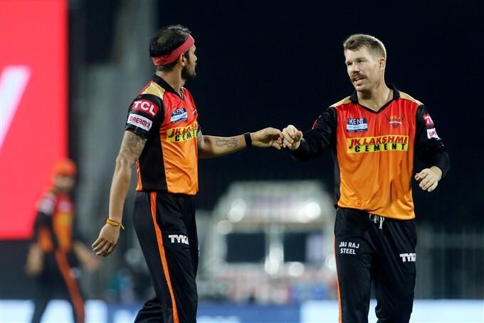 IPL 2021: SRH vs DC Match 20 Photos