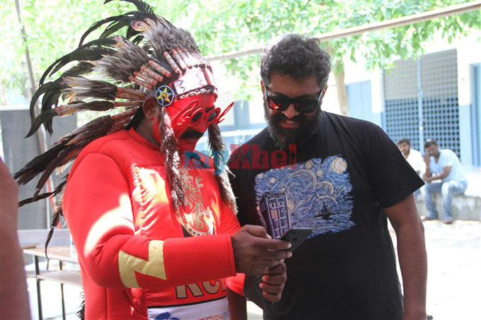 Raghu Dixit Supports RCB Fans Bleed Namma RCB blood Donation Photos