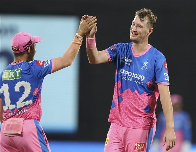 IPL 2021: SRH vs RR, Match 28 Photos