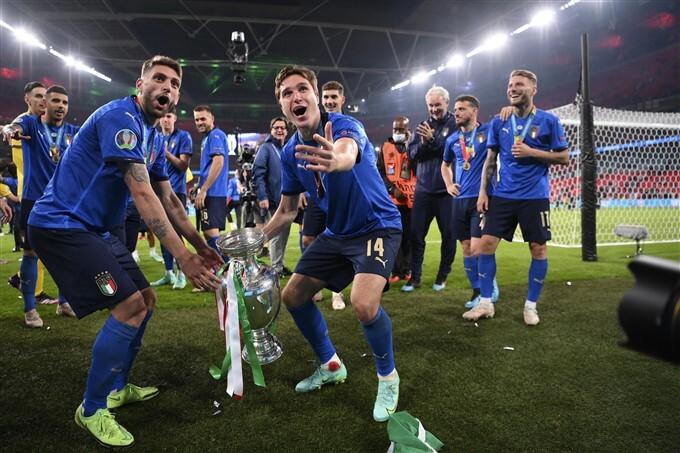 Euro 2020 championship final match Photos
