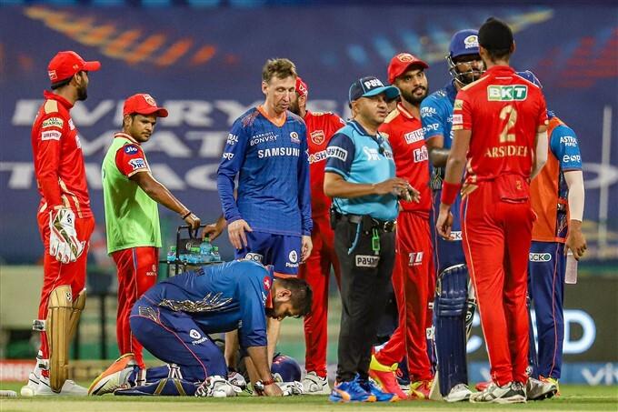 IPL 2021: MI vs PBKS, Match 42 Photos