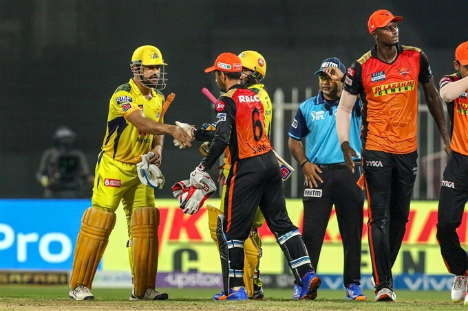 IPL 2021: CSK vs SRH, Match 44 Photos