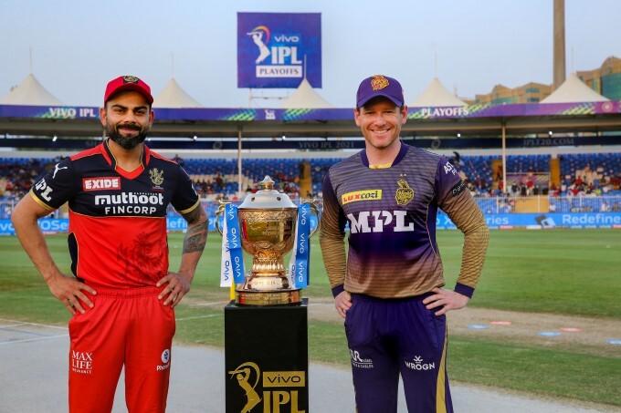 IPL 2021: RCB vs KKR, Eliminator Match Photos