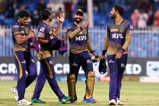 IPL 2021: RR vs KKR, Match 54 Photos