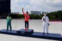 Horigome wins first ever skateboard gold
