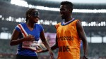 Paralympics: Cape Verde guide proposes to runner on track