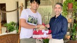 Golden boys reunited! Neeraj Chopra gifted with a puppy named 'Tokyo' by Abhinav Bindra