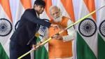 Neeraj Chopra's javelin goes for Rs 1.5 crore