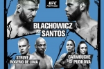 UFC Fight Night 145: Blachowicz vs. Santos fight card and schedule