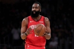 Rockets' James Harden makes NBA history