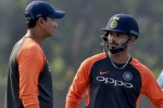 Pant maintains hopes of finding a berth in the World Cup squad