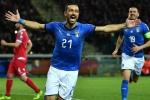Italy 6 Liechtenstein 0: Quagliarella makes history in Azzurri romp