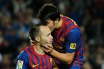 Barcelona book reunion with Iniesta, Villa on Japan tour