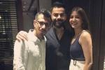 IPL 2019: Virat Kohli, wife Anushka Sharma throw a dinner party for Royal Challengers Bangalore teammates