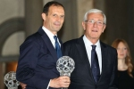 Allegri inducted into Italian Football Hall of Fame