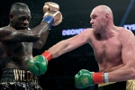 Fury expects Wilder rematch in March or April 2020