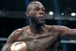 Wilder retains title with first-round knockout of Breazeale