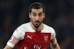 Arsenal's Mkhitaryan to miss Europa League final in Baku