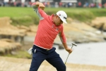 Woodland wins U.S. Open for maiden major after denying Koepka hat-trick