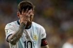 Messi 'bitter' after Argentina lose Copa America opener