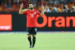 Egypt 2 DR Congo 0: AFCON hosts through as Salah gets off the mark