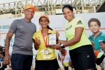 24-Hours Stadium Run: Narender Ram-Priyanka Bhatt emerge winners, cover 165.6 kilometres and 151.6 kms respectively