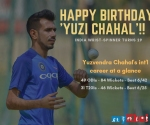 India cricketers wish birthday boy Yuzvendra Chahal; Rohit Sharma-Shikhar Dhawan come up with hilarious messages