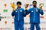 21st Commonwealth Table Tennis Championships: Sathiyan-Archana win mixed gold, Sharath loses men's singles semifinal