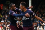 Emery confirms contract talks for Arsenal stars Aubameyang and Lacazette