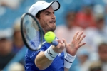 Murray beaten at Winston-Salem Open as singles return continues