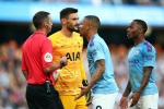 Manchester City 2-2 Tottenham: Jesus strike ruled out by VAR as champions' winning streak ends