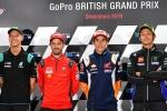 MotoGP riders prepare to take on Silverstone