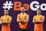 Virat Kohli unveils FC Goa's new home jersey