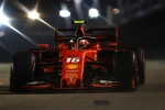 Charles Leclerc takes shock Ferrari pole in Singapore