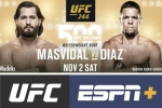 Masvidal vs Diaz, Gastelum vs Till to headline 500th UFC live event