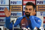 No risk, no gain - Virat Kohli defends decision to bat first in 3rd T20I