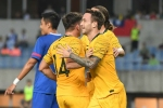 Chinese Taipei 1-7 Australia: Socceroos boost goal difference in Group B