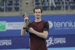 Tearful Murray soaks up European Open win