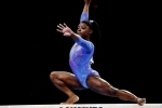 Biles reigns supreme in Stuttgart to set World Championships record