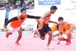 Gujarat and Maharashtra cruise into the quarter-finals of 39th Junior Kho Kho Nationals
