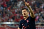 Olympiacos 2-3 Bayern Munich: Lewandowski at the double in battling win