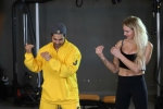 WWE Superstar Charlotte Flair takes special dance lesson from Bollywood actor Varun Dhawan - Watch