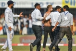 India vs Bangladesh, 1st Test: 'Kohli fan' sneaks onto the field during the first Test in Indore
