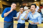 India Vs Bangladesh: VVS Laxman, Gautam Gambhir relish pohe-jalebi for breakfast in Indore - See pics