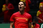 Davis Cup: Nadal dethrones Croatia and puts Spain into last eight