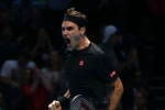 Federer eliminates Djokovic from ATP Finals to hand Nadal year-end number one