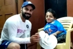 Virat Kohli wins hearts with his sweet gesture for a special fan after victory in Indore Test