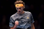 Zverev masters Medvedev to reach ATP Finals last four and knock out Nadal