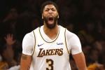 Davis dominates for Lakers, Doncic passes Jordan